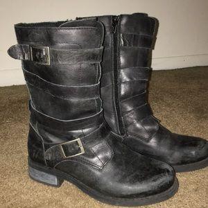 Eric Micheal combat boots
